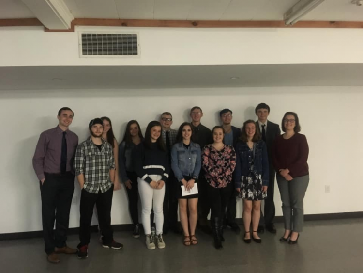 Large image of photo: JBHS Eastern Maine Skippers Program Participants